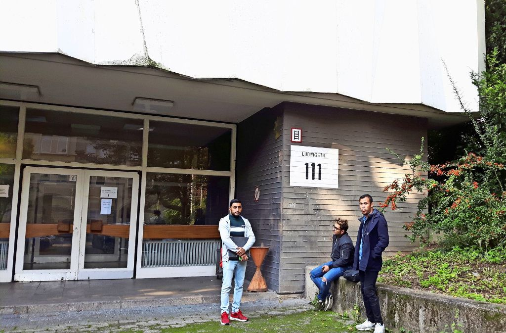 Das Ebelu wird ausgebaut. Die Schüler  weichen während der Bauphase in die Ludwigstraße aus. Dort sind derzeit noch die Integrationskurse der   Vhs Foto: Eva Funke