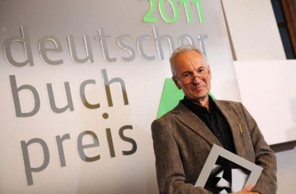 Erwin Ruge gewinnt den Deutschen Buchpreis 2011. Foto: dpa