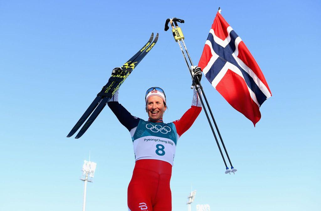 Marit Björgen aus Norwegen ist die erfolgreichste Sportlerin bei Olympischen Winterspielen.Foto:Getty Images AsiaPac Foto:
