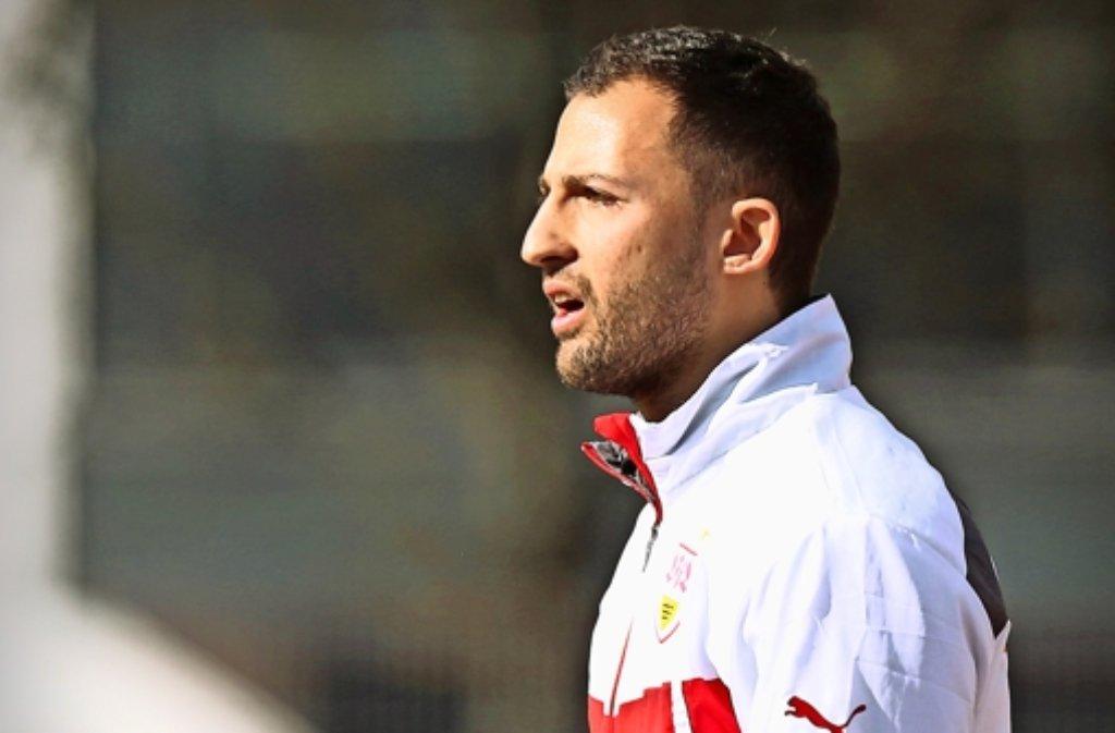 Der U-17-Trainer Domenico Tedesco wäre gerne beim VfB geblieben Foto: Baumann
