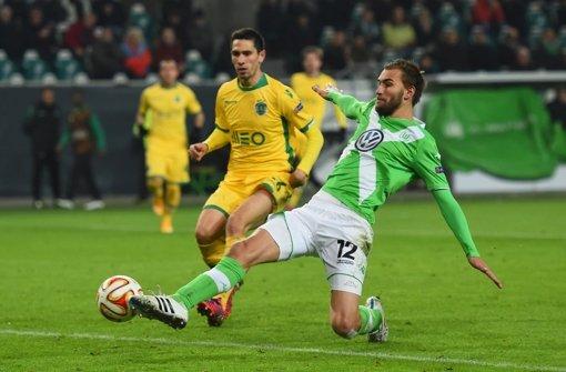 Doppel-Torschütze Dost bringt Wolfsburg auf Achtelfinal-Kurs