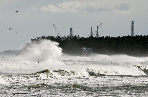 Taifun bedroht Katastrophengebiet
