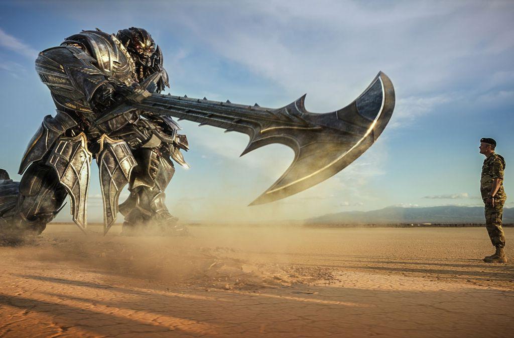 Megatron und Josh Duhamel als Lennox Foto: Verleih