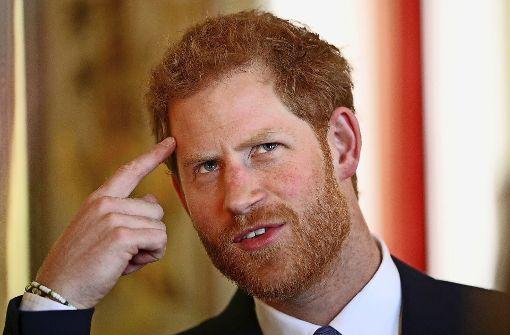 Prinz Harry plaudert aus dem Nähkästchen
