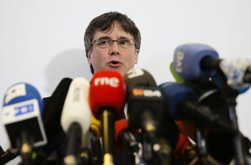 Puigdemont fordert Freispruch für Separatistenführer
