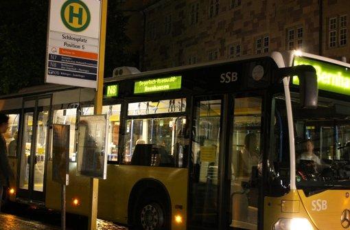 Nachtbushaltestelle wird verlegt