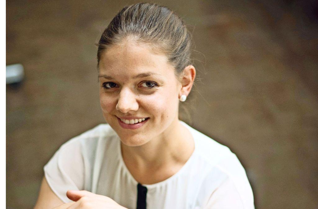 Marika Baur will die Welt  besser machen. Foto: Lichtgut/Max Kovalenko