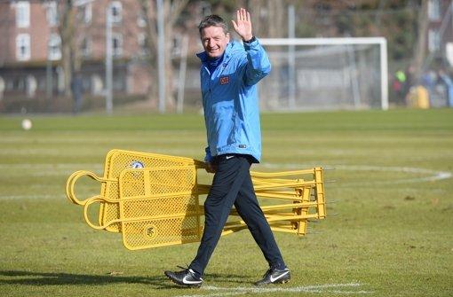 Das VfB-Herz setzt für ein Spiel aus
