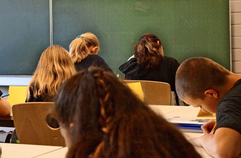 Unterricht in der 5. Klasse Foto: Fritzsche