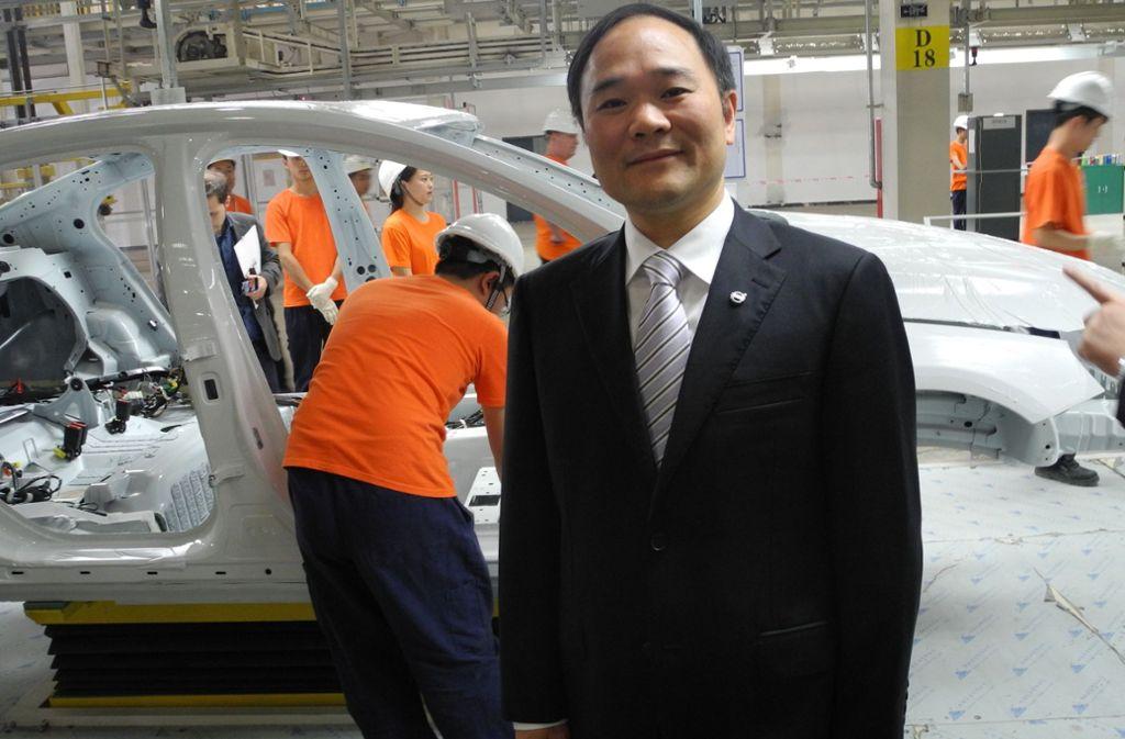 Der Milliardär Li Shufu. Foto: dpa
