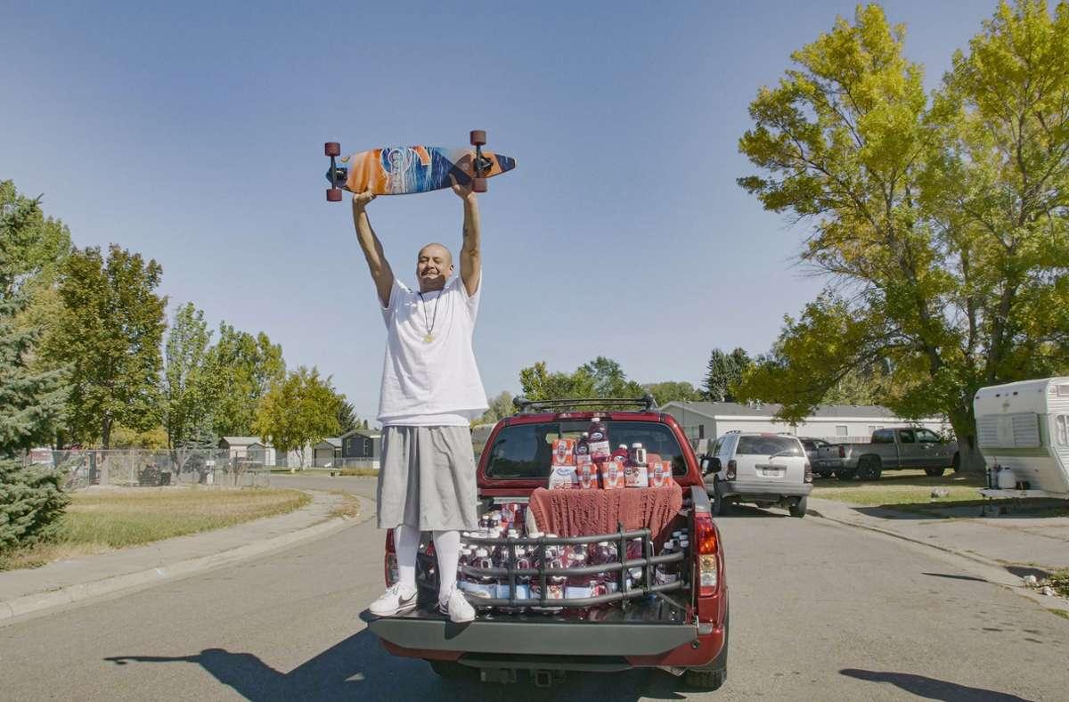 Nathan Apodaca hat nach seinem viralen TikTok-Video nicht nur Millionen neue Follower, sondern auch einen neuen Truck. Foto: AP/Wesley White