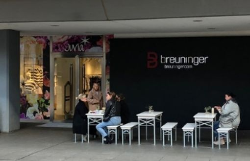 Neue Gastronomie im Mini-Format am Martkplatz