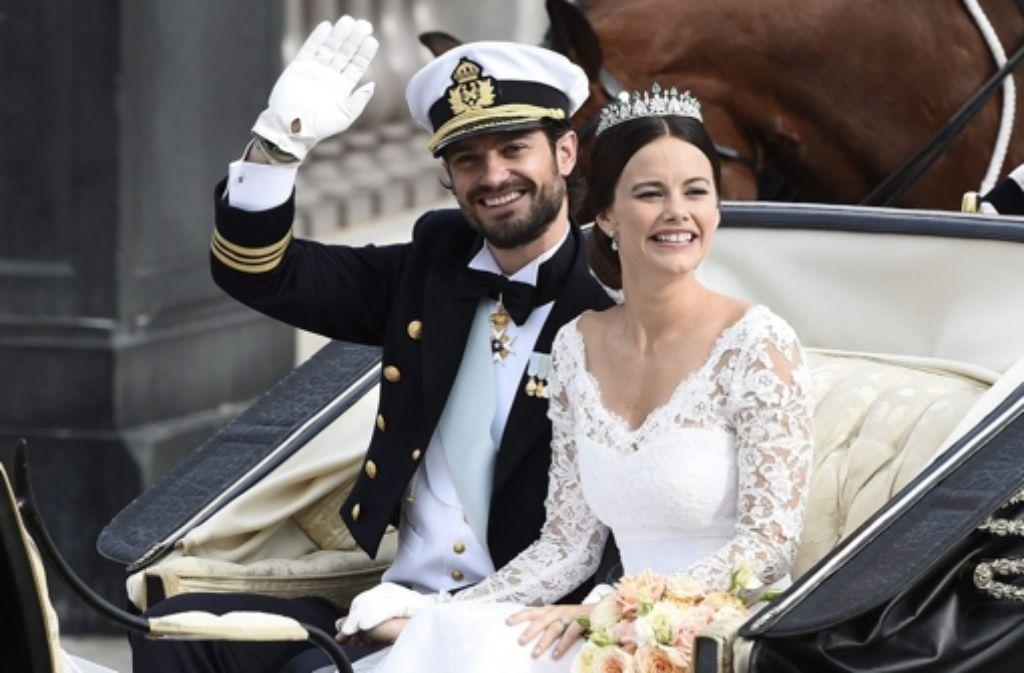 Nachwuchs für Carl Philip von Schweden und seine Sofia. Foto: dpa