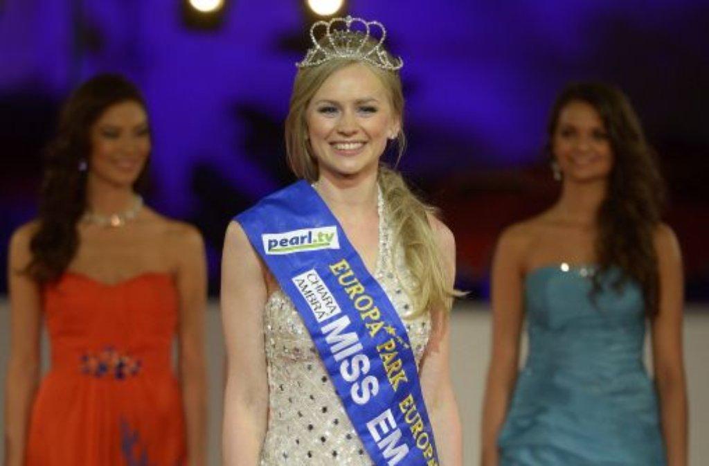 Natalia Prokopenko aus Russland ist die Miss EM. Foto: dapd
