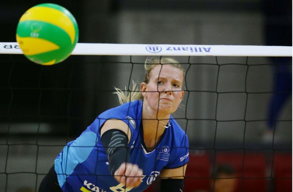 Julia Scahefer startet mit den Stuttgarter Volleyballerinnen in der Champions League. Foto: Baumann