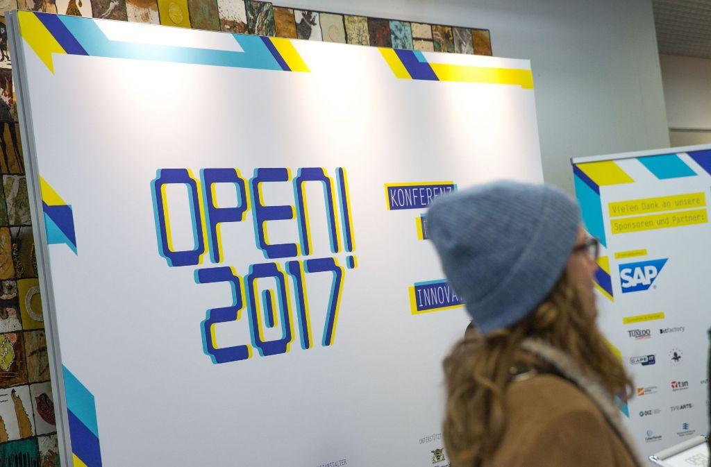 Offene Debatten über die Folgen der Digitalisierung, dafür steht die Open 2017 Foto: Lichtgut/Leif Piechowski
