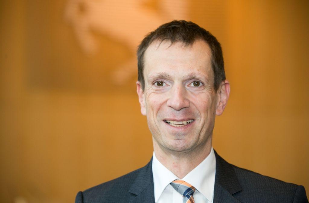 CDU-Fraktionschef Alexander Kotz hat eine Vision Stuttgart 2030. Foto: Lichtgut/Leif Piechowski