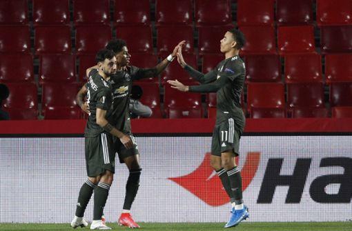 Manchester United und AS Rom siegen auswärts