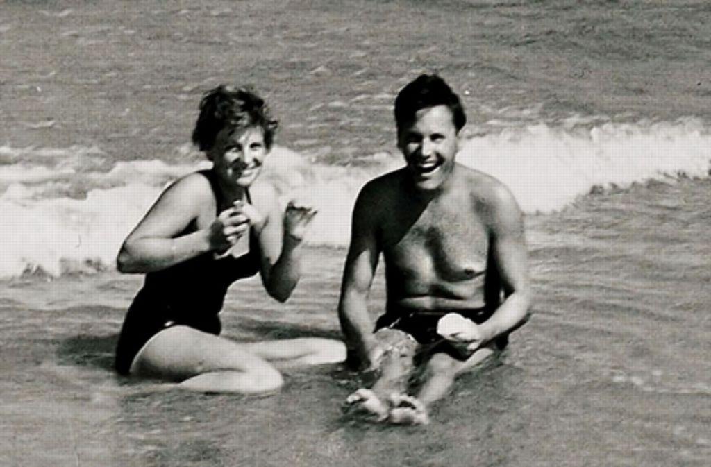Kennen gelernt haben sich Brigitte (eine Schwäbin) und Werner Kiefer (ein Badener) im Vaihinger Freibad. Foto: privat
