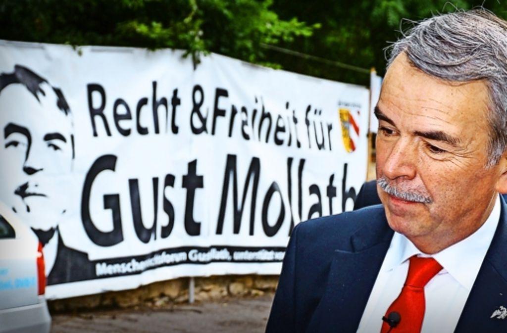 Gustl Mollath muss fortan ohne seine Wahlverteidiger auskommen. Foto: dpa