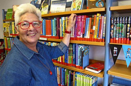 Die Stadtbücherei verliert die Frau für alle Fälle