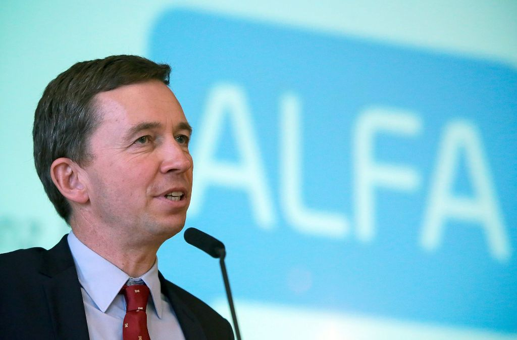 Von der AfD zu Alfa zu Liberal-Konservative Reformer: Bernd Lucke Foto: dpa