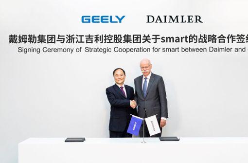Daimler baut  mit Geely neue Motoren