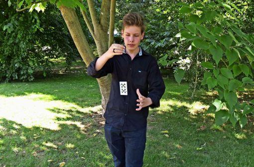 Mit 15 Jahren der Jüngste im Magischen Zirkel