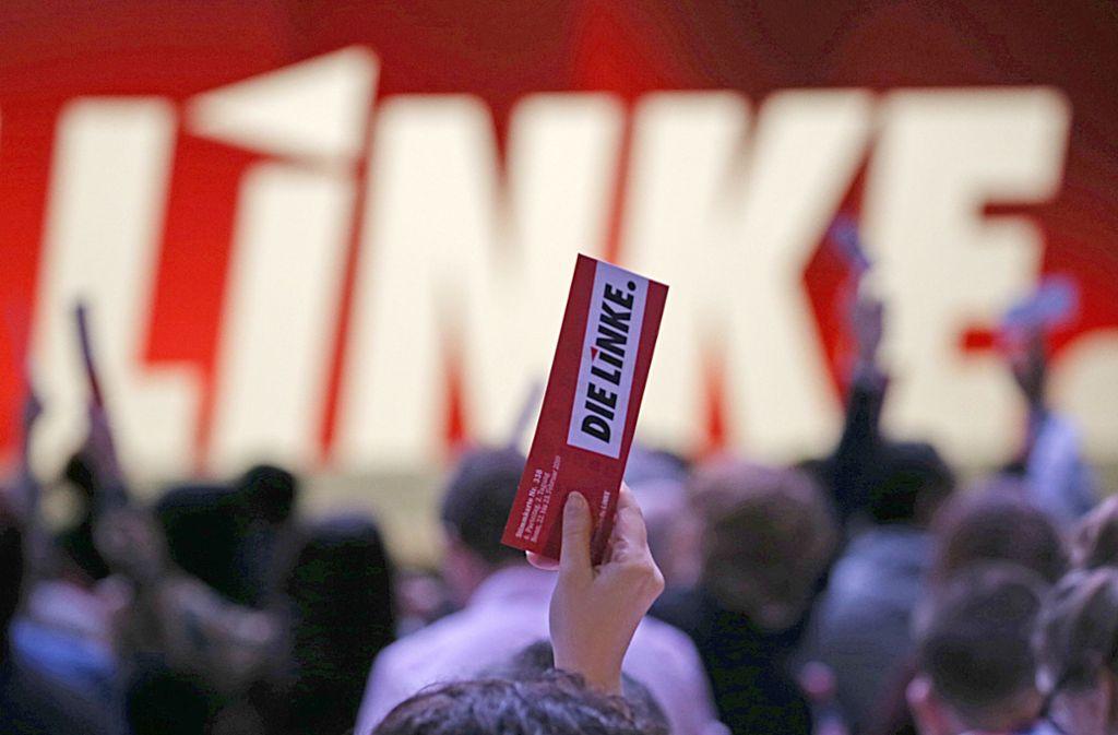 Beim Linken-Parteitag in Bonn wurde erst einmal eine Grundsatzdebatte geführt. Foto: dpa