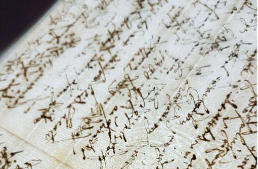 Brief von Friedrich Schiller wird versteigert