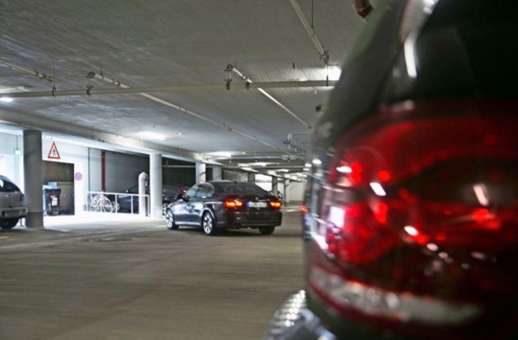 Jetzt stehen wieder 90 Parkplätze in der Innenstadt zur Verfügung. Foto: Horst Rudel