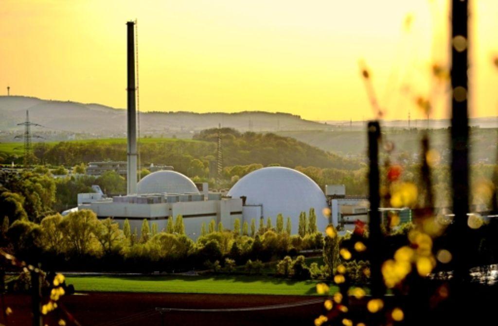 Einst ein Goldesel, nun eine teure  Last:  das Kernkraftwerk Neckarwestheim Foto: dapd