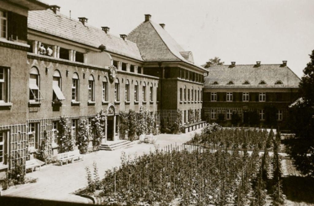 Ganz früher ist in diesem Haus einmal ein Erholungsheim für den bürgerlichen Mittelstand gewesen. Foto: