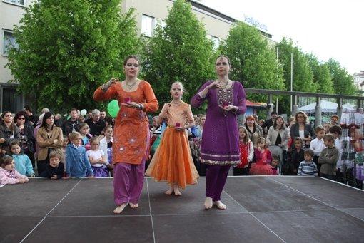 Viele Vorführungen gehören zum Maikäferfest dazu. Foto: Sigerist