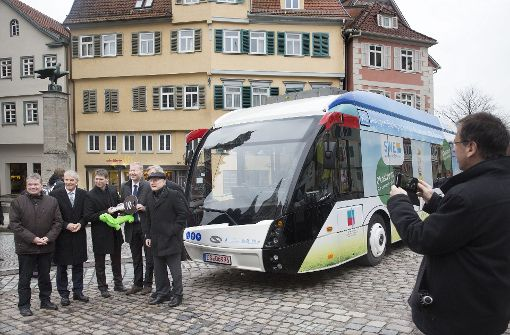 Der Elektrohybridbus hat sich seit seiner Einführung (unser Bild) in Esslingen bewährt. Foto: Horst Rudel
