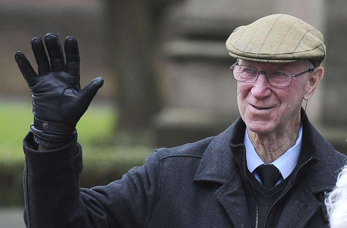 Jack Charlton ist im Alter von 85 Jahren gestorben. Foto: AP/Rui Vieira