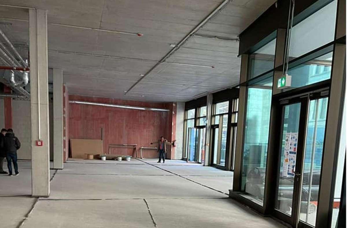 Der Architekt hat mit der Arbeit für das neue Lokal Malo begonnen, das sich im Neubau an jenem Ort befindet, auf dem sich einst die Rathausgarage befand. Foto: StZ