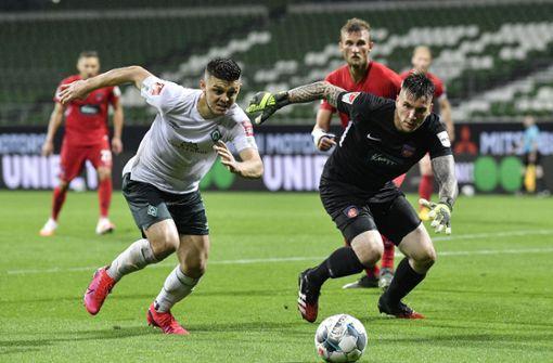 Nur 0:0 gegen Heidenheim – Werder Bremen muss zittern