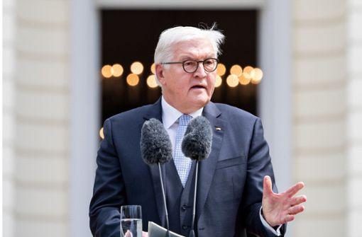 Bundespräsident Steinmeier rügt widerwärtige Äußerungen