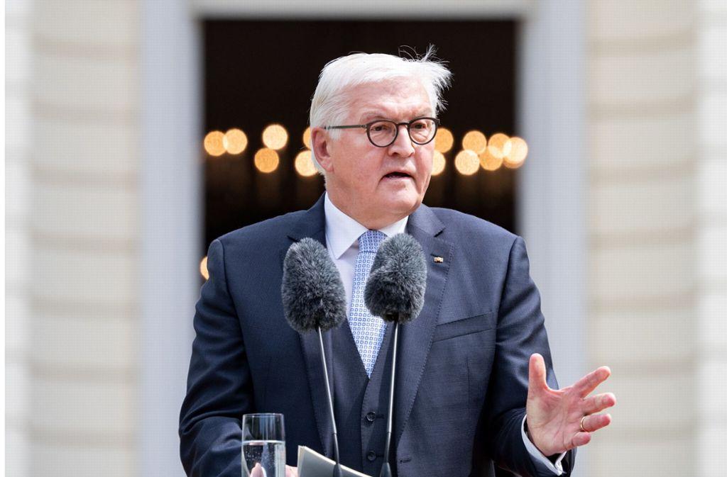 Bundespräsident Frank-Walter Steinmeier Foto: dpa
