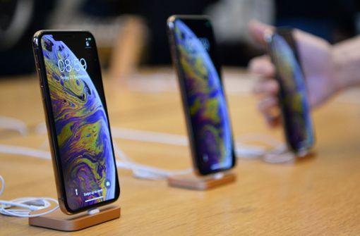 Apple bricht Rekorde im Weihnachtsquartal