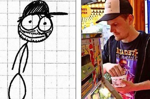 Er ist der Punk unter den Cartoonisten