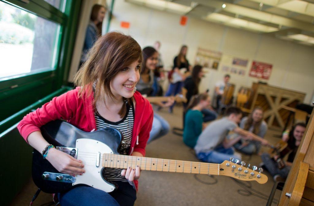 Zur Ganztagsschule gehört auch ein musikalisches Zusatzangebot. Foto: dpa