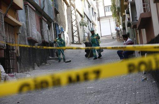 Türkei-Attentäter soll Kind gewesen sein