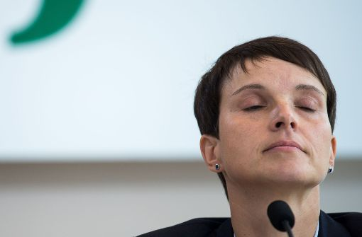 Anklage gegen Frauke Petry erhoben