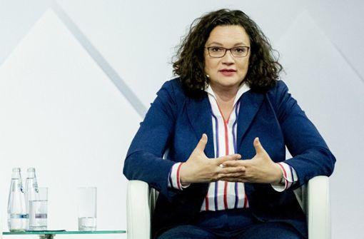 Andrea Nahles fordert Distanz zu Rechtspopulisten