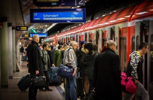 Der Ausbau der S-Bahnstation zu einem Regionalhalt muss warten. Foto: Lichtgut/Achim Zweygarth