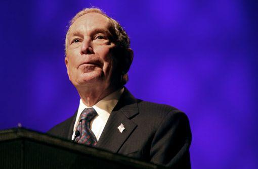 Milliardär Bloomberg will US-Präsident werden