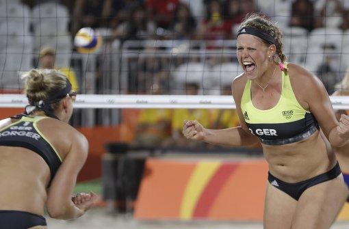 Stuttgarter Beachvolleyballerinnen finden zur Lockerheit zurück