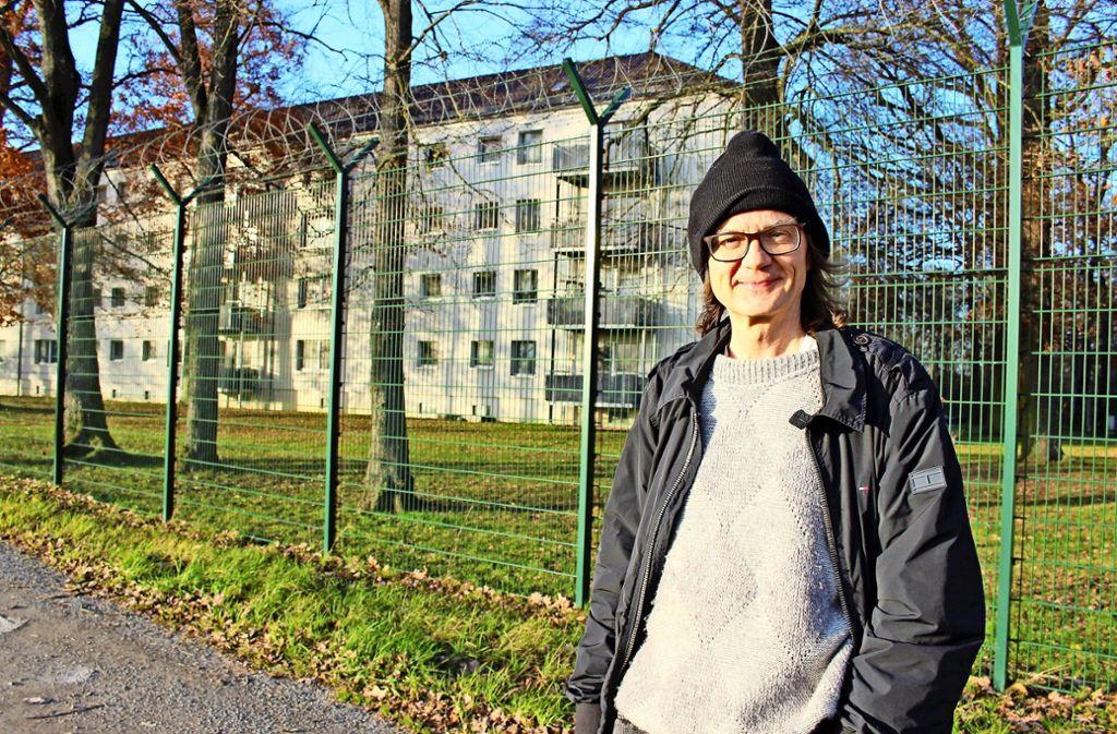 Die Mitarbeiter der Kelley Barracks ließen den 58-Jährigen  nicht auf ihr Gelände. Foto: Caroline Holowiecki
